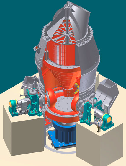 Roller Mill Cement Balls : Thyssenkrupp industrial solutions cement industry
